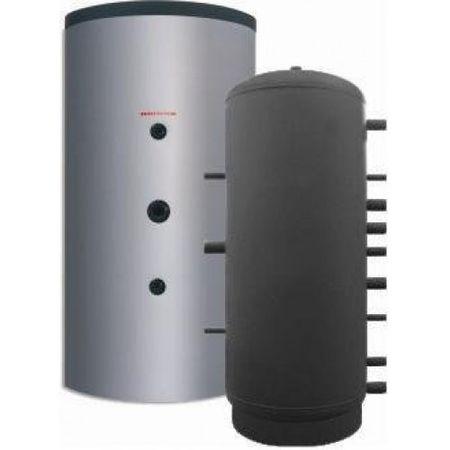 P 2000 Puffer - Rezervor de acumulare apa calda izolat SUNSYSTEM P 2000 litri fornello imagine
