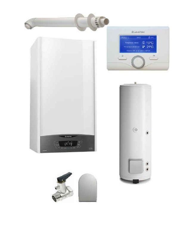 Pachet Centrala termica in condensare Clas ONE System 35 cu boiler BC1S 300 L imagine fornello.ro