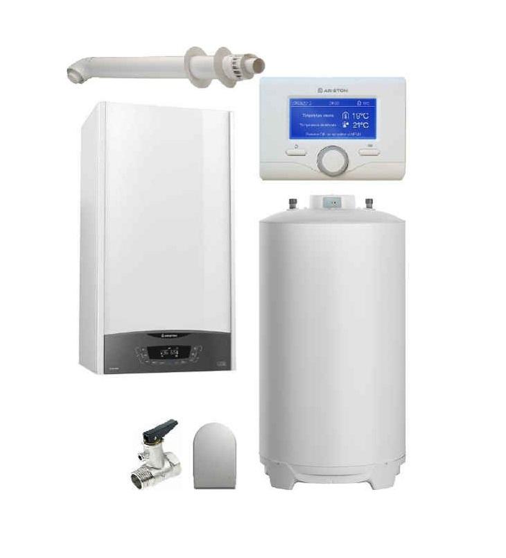 Pachet Centrala termica in condensare Clas ONE System35 cu boiler BCH 200 L imagine fornello.ro