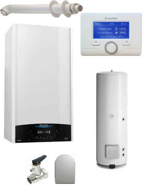 Pachet centrala termica in condensare Genus ONE System 30 cu boiler BC1S 300 L imagine fornello.ro