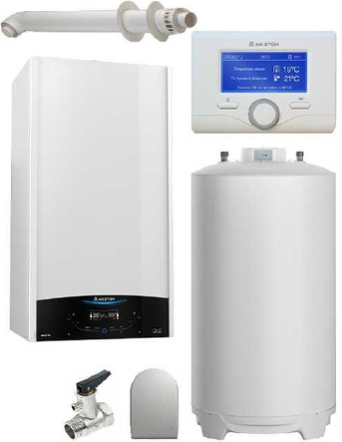 Pachet Centrala termica in condensare Genus One System 30 cu boiler BCH 160 L imagine fornello.ro