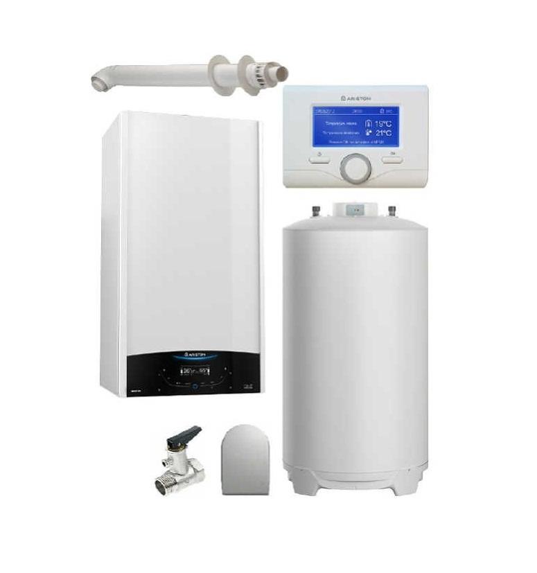Pachet Centrala termica in condensare Genus ONE System 30 cu boiler BCH 200 L imagine fornello.ro