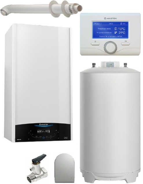 Pachet Centrala termica in condensare Genus ONE System 35 cu boiler BCH 160 L imagine fornello.ro