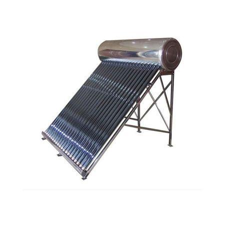 Panou solar nepresurizat cu boiler inox/inox 150 litri Sontec SP-C fara flotor, 18 tuburi vidate fornello imagine