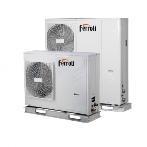 Pompa de caldura aer-apa FERROLI RVL-I PLUS 07 7 kW imagine fornello.ro