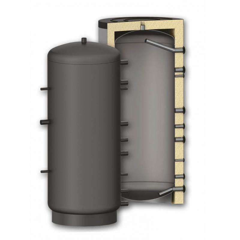 Puffer - rezervor de agent termic izolat SUNSYSTEM P 1500 litri imagine fornello.ro