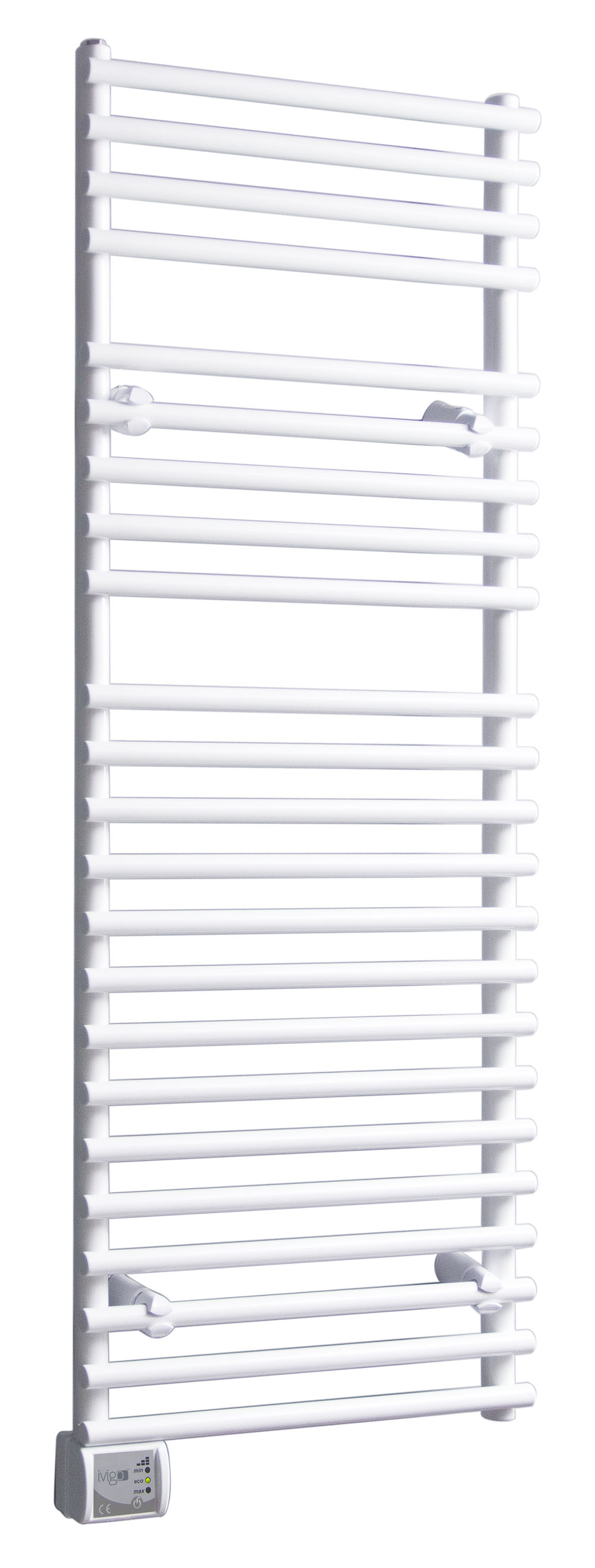 Radiator (calorifer) baie portprosop electric iVigo EHR 5023, 600 W, 500x1200 mm, culoare alb imagine fornello.ro
