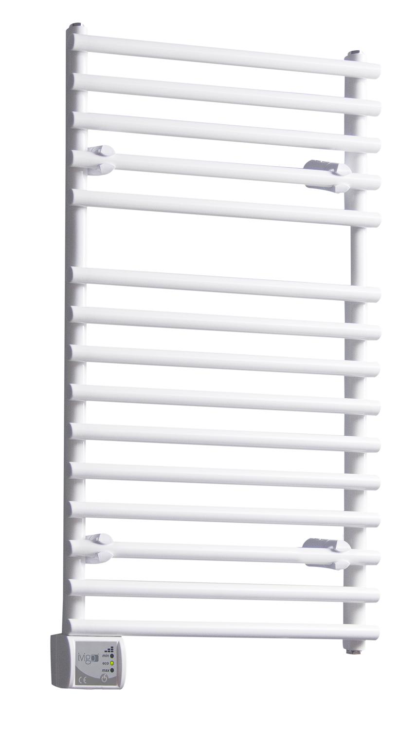 Radiator (calorifer) baie portprosop electric iVigo EHR 5015, 350 W, 500x800 mm, culoare alb fornello imagine