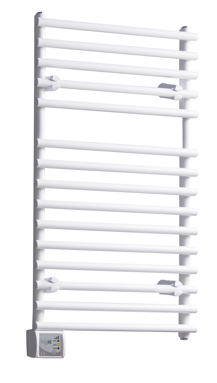 Radiator (calorifer) baie portprosop electric iVigo EHR 5012, 275 W, 500x650 mm, alb fornello imagine