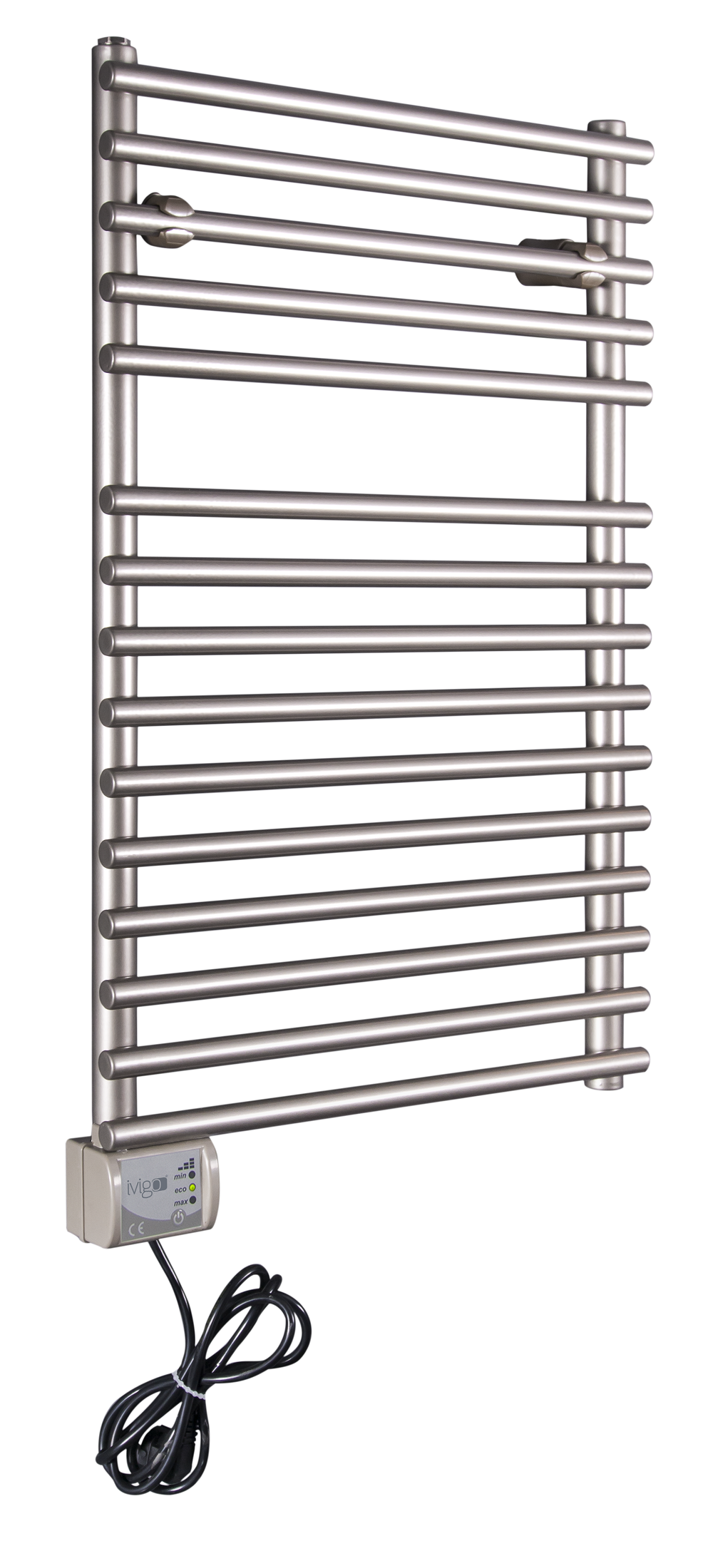 Radiator (calorifer) baie portprosop electric iVigo EHR 5012, 275 W, 500x650 mm, inox fornello imagine