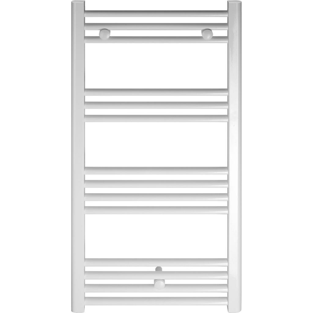 Radiator (calorifer) de baie tip portprosop Fornello Evo drept 400x800, Alb fornello imagine