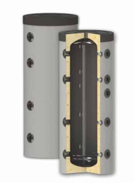 Rezervor de acumulare puffer pentru agent termic, fara serpentina PS 200L imagine fornello.ro