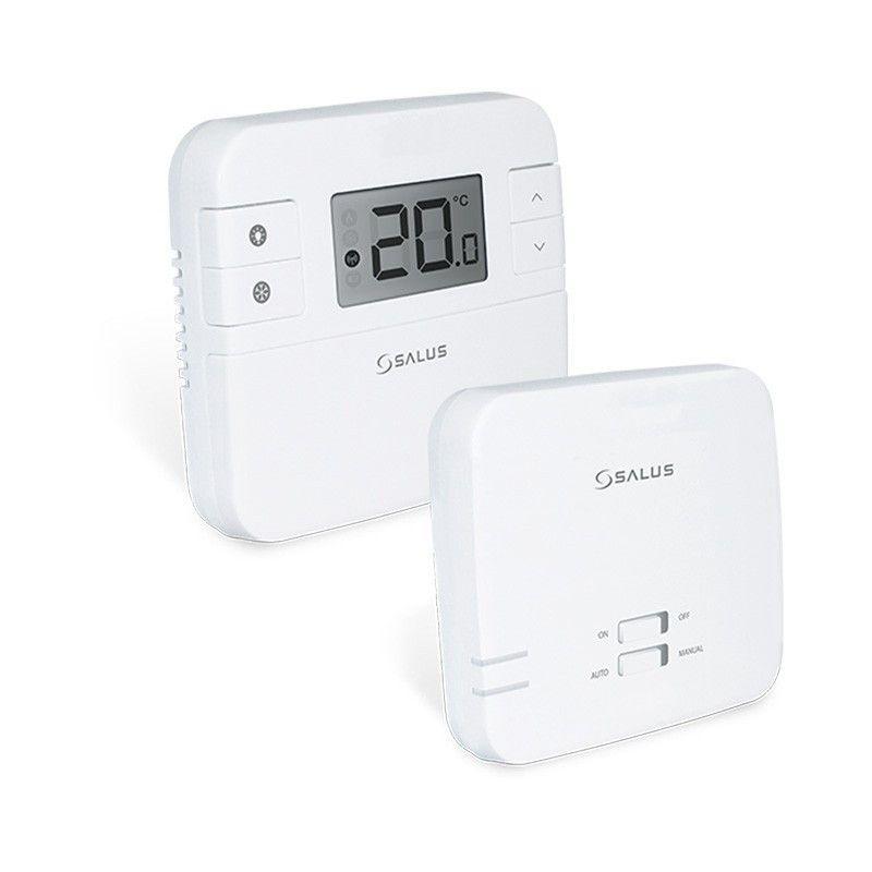 Termostat de ambient cu control prin internet neprogramabil Salus RT310i cu 5 ani garantie imagine fornello.ro