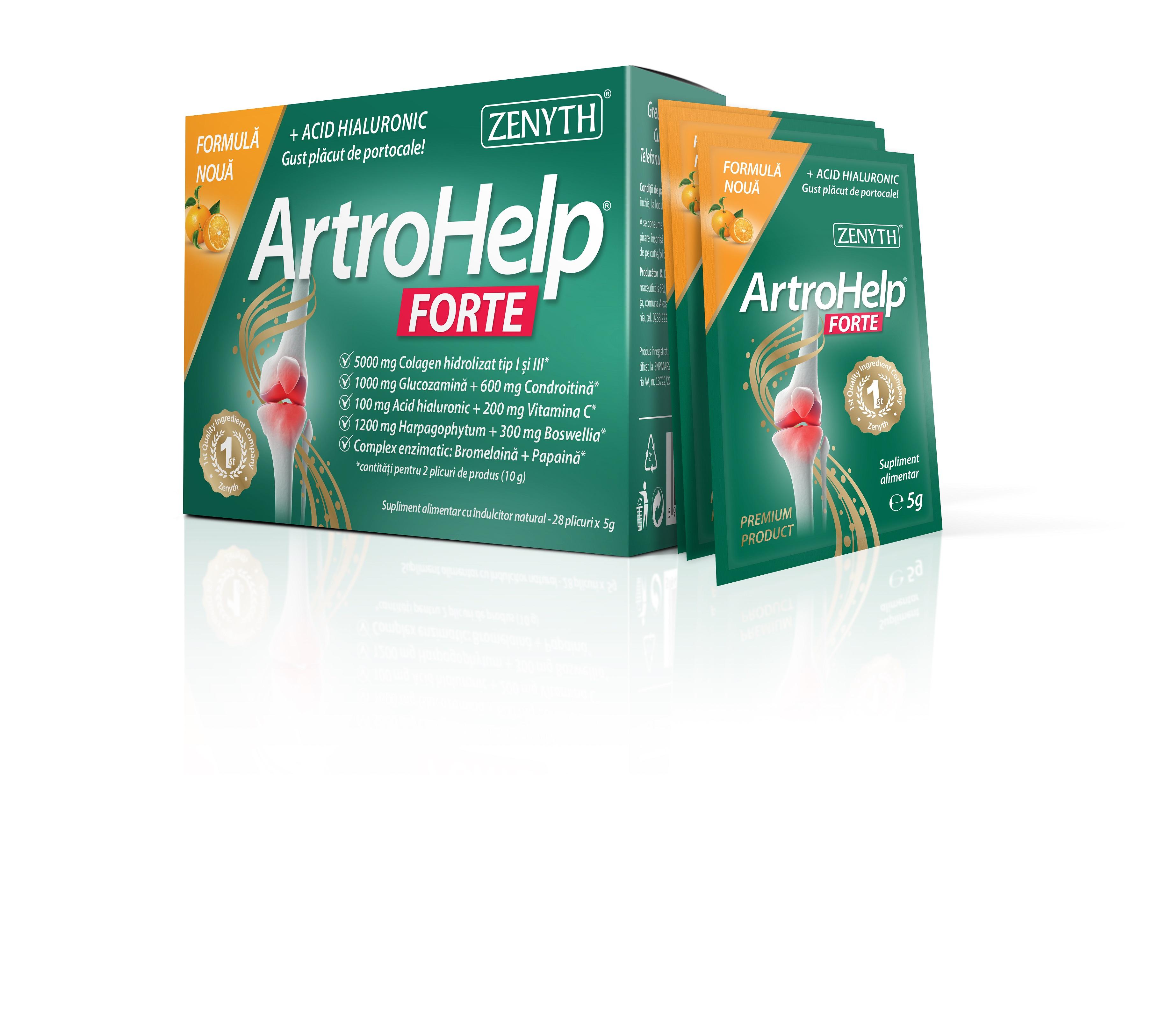 ArtroHelp Forte, pentru articulații, 14 plicuri - de la ZENYTH