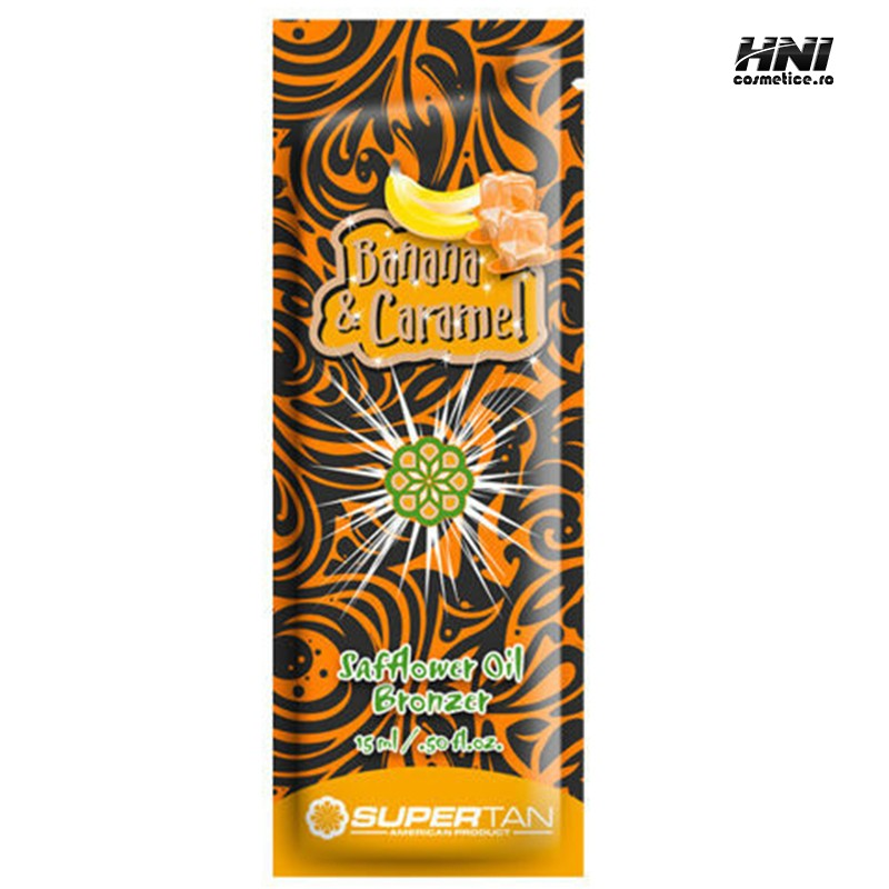 Crema pentru solar cu aroma de BANANA & CARAMEL 15ml