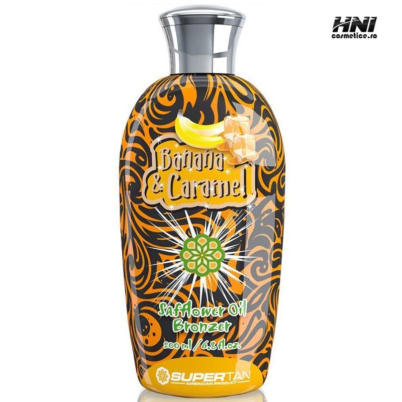 Crema pentru solar cu aroma de BANANA & CARAMEL 200ml