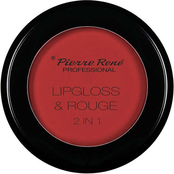 Gloss & Blush - Lipgloss & Rouge 2 In 1 Bull Red Rug Nr.05
