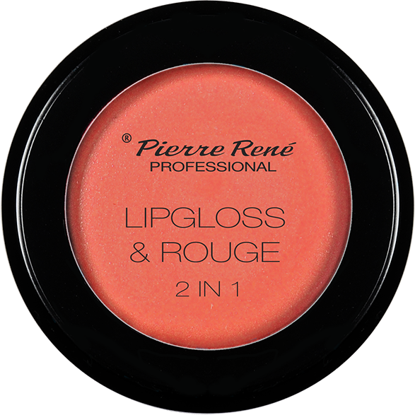 Gloss & Blush - Lipgloss & Rouge 2 In 1 Delicat Raspberry Nr.01