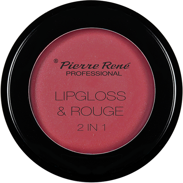 Gloss & Blush - Lipgloss & Rouge 2 In 1 Intense Raspberry Nr.02