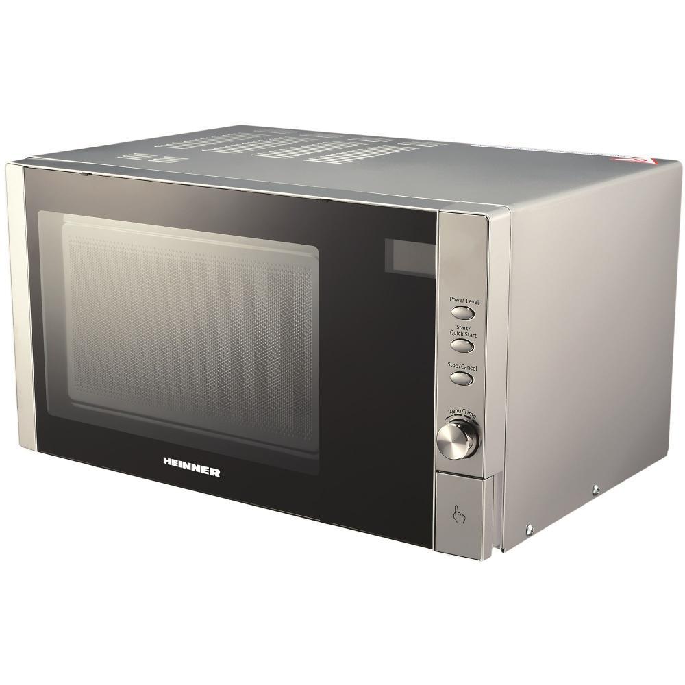 Cuptor cu microunde Heinner HMW-23DS, 23 L, 900 W, grill, digital