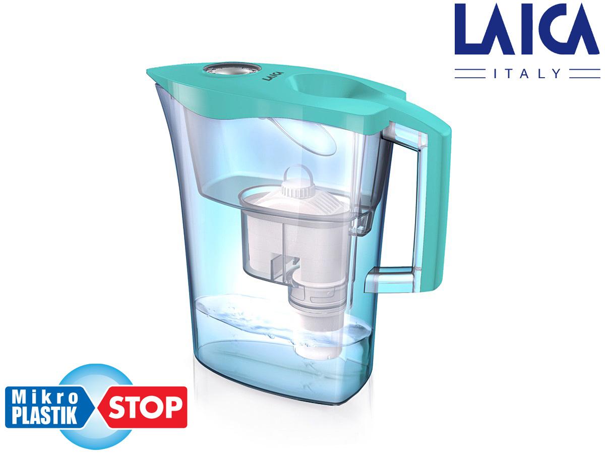 Cana filtranta de apa Laica MikroPLASTIK-STOP, 3 litri laicashop.ro 2021