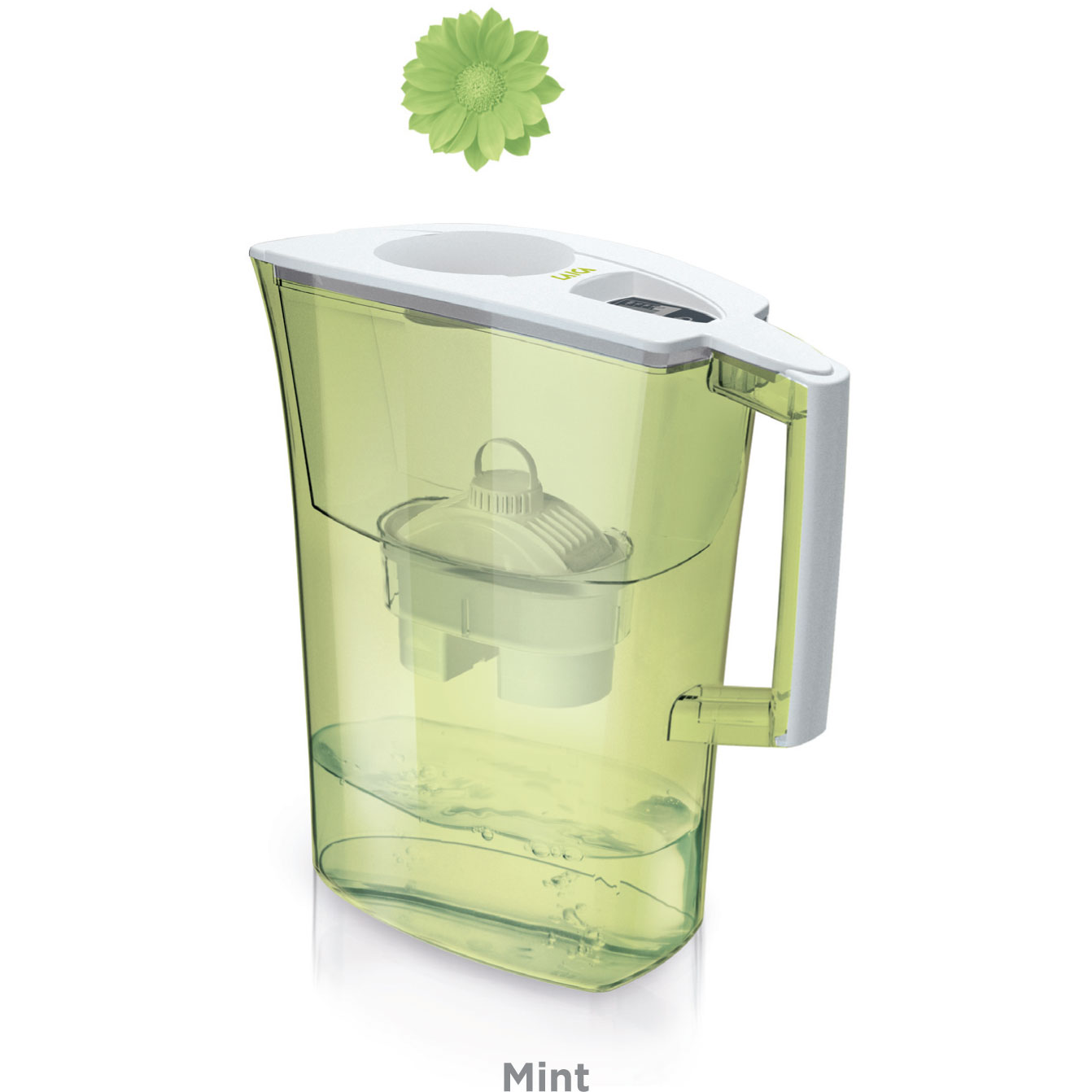 Cana filtranta de apa Laica Spring Apricot, 3 litri laicashop.ro 2021