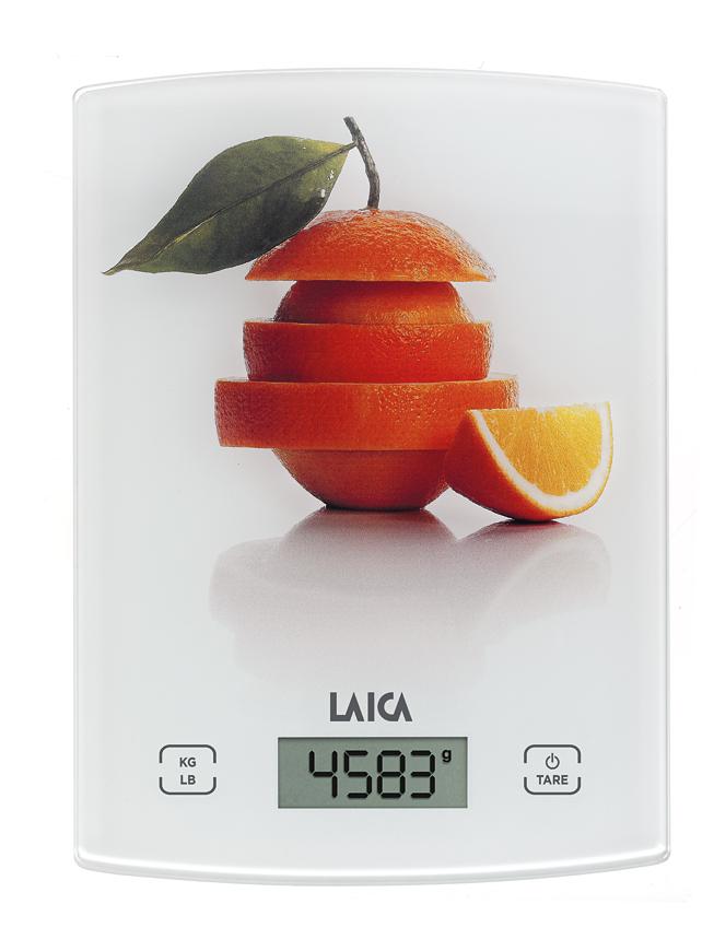 Cantar electronic de bucatarie Laica KS1029, portocaliu laicashop.ro 2021