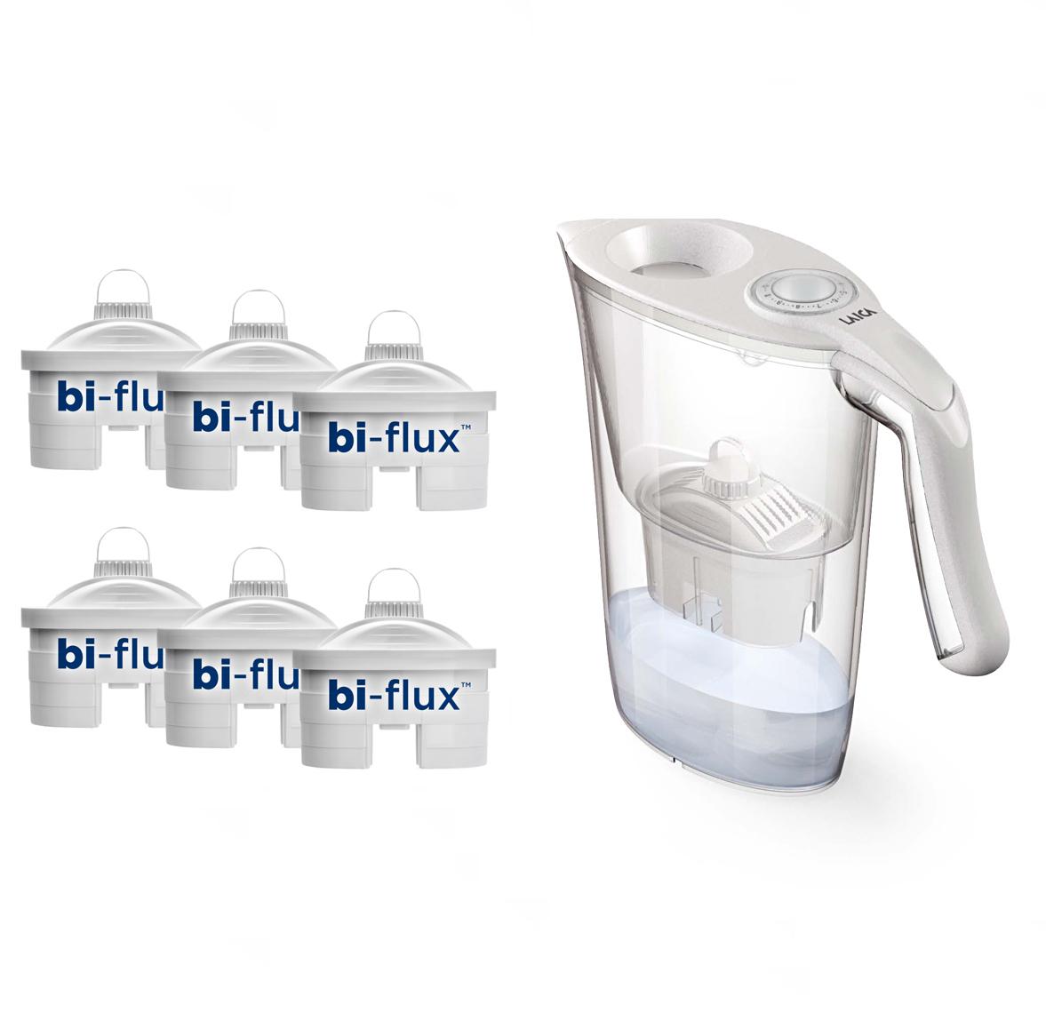 PROMO: 6 cartuse + Cana filtranta de apa CADOU, 2,3 litri laicashop.ro 2021