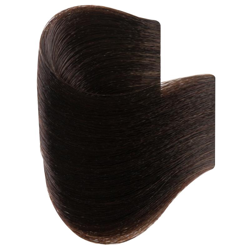 Vopsea De Par Permanenta Glamour, Professional, Nuanta 4.00,Intense Brown, 120 Ml imagine produs