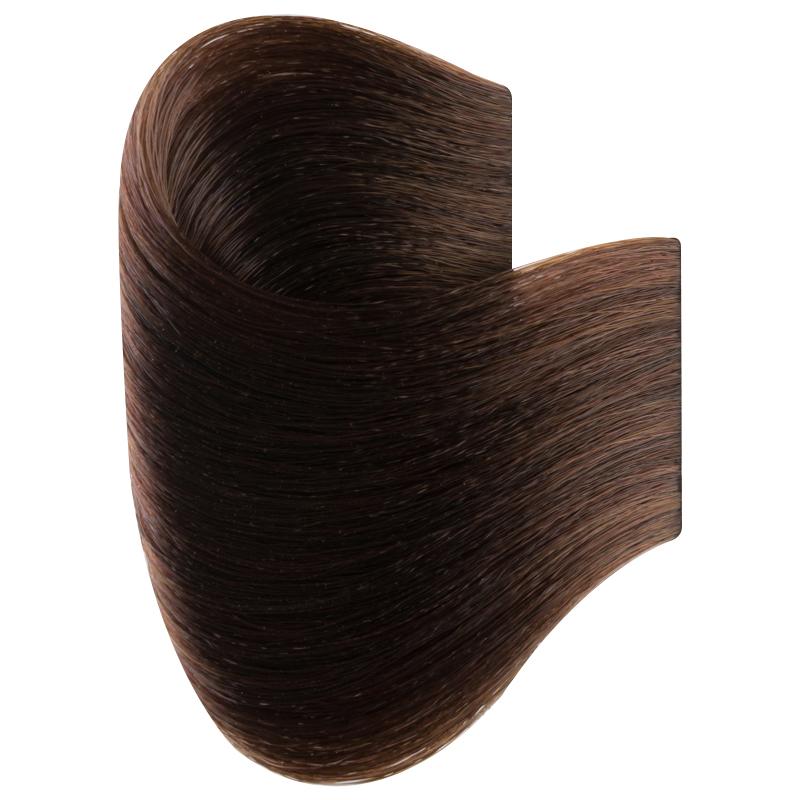 Vopsea De Par Permanenta Glamour, Professional, Nuanta 5.0, Light Brown, 120 Ml imagine produs