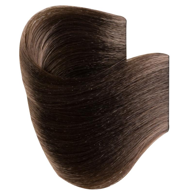 Vopsea De Par Permanenta Glamour, Professional, Nuanta 6.1, Dark Ash Blonde, 120 Ml imagine produs