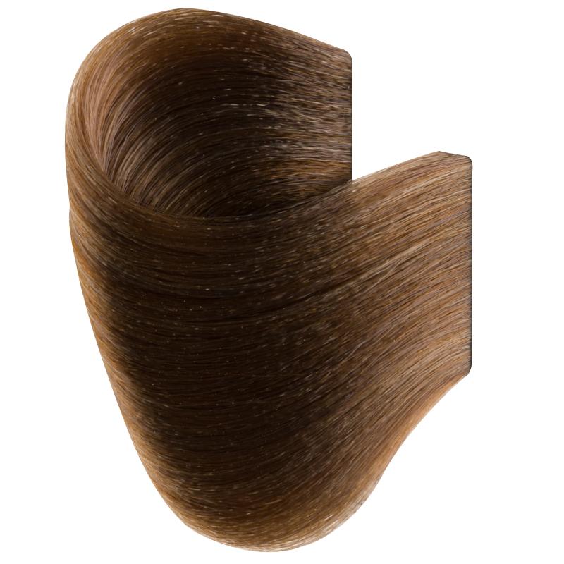 Vopsea De Par Permanenta Glamour, Professional, Nuanta 7.00, Intense Medium Blonde, 120 Ml imagine produs