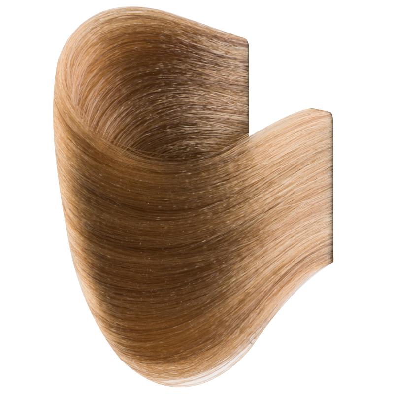 Vopsea De Par Permanenta Glamour, Professional, Nuanta 8.0, Light Blonde, 120 Ml imagine produs