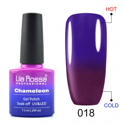 Oja Semipermanenta Lila Rossa Chameleon 018 poza