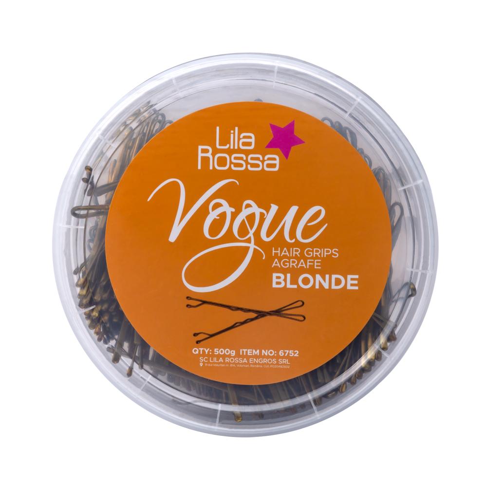Agrafe Lila Rossa, Vogue, 500 G, Blonde, 6cm imagine produs
