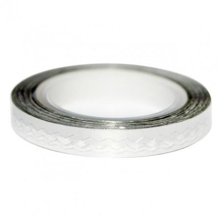 Banda Decorativa Lata Silver imagine produs