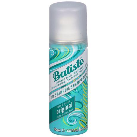 Batiste Original Dry Shampoo 50ml imagine produs