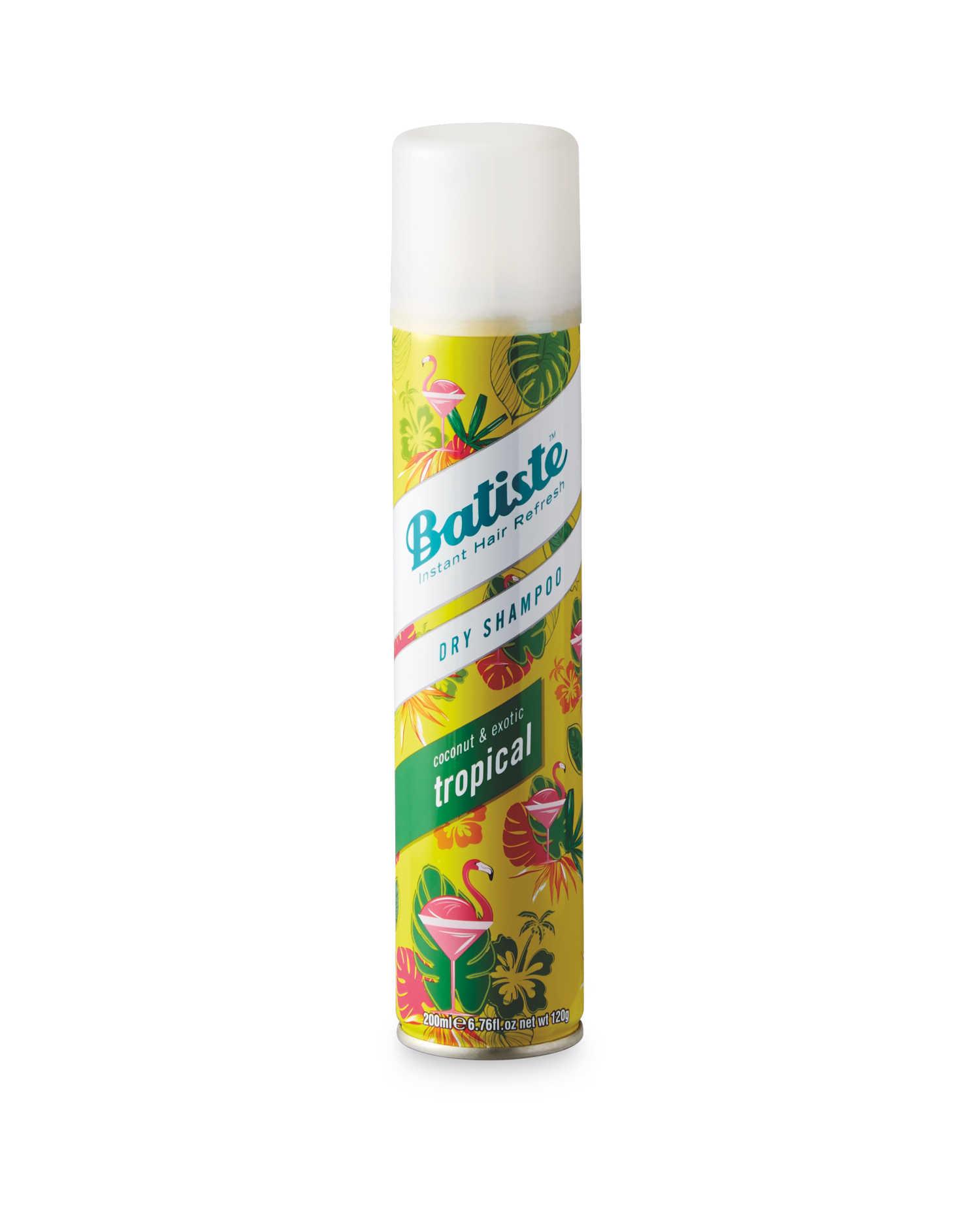 Batiste Tropical Dry Shampoo 200ml imagine produs