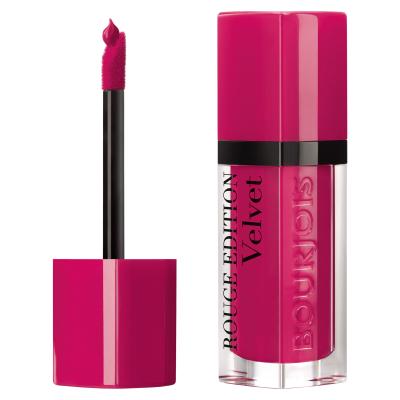 Bourjois Rouge Edition Velvet Mat 06 Pink Pong 7,7ml imagine produs