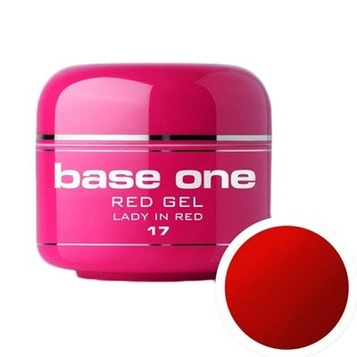 Gel Color Base One Red Lady In Red *17 5g imagine produs