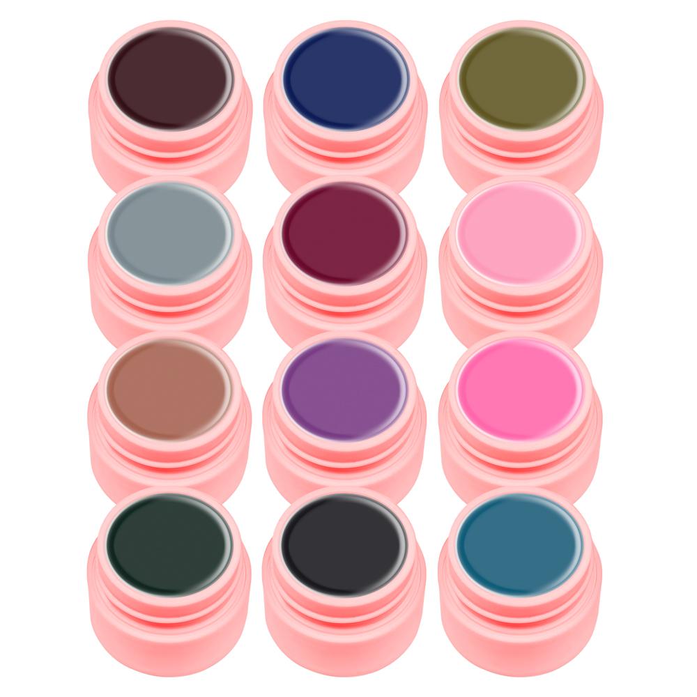 Gel Color Canni Set 12 Elegant imagine produs