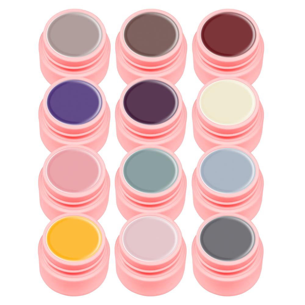 Gel Color Canni Set 12 Natural imagine produs