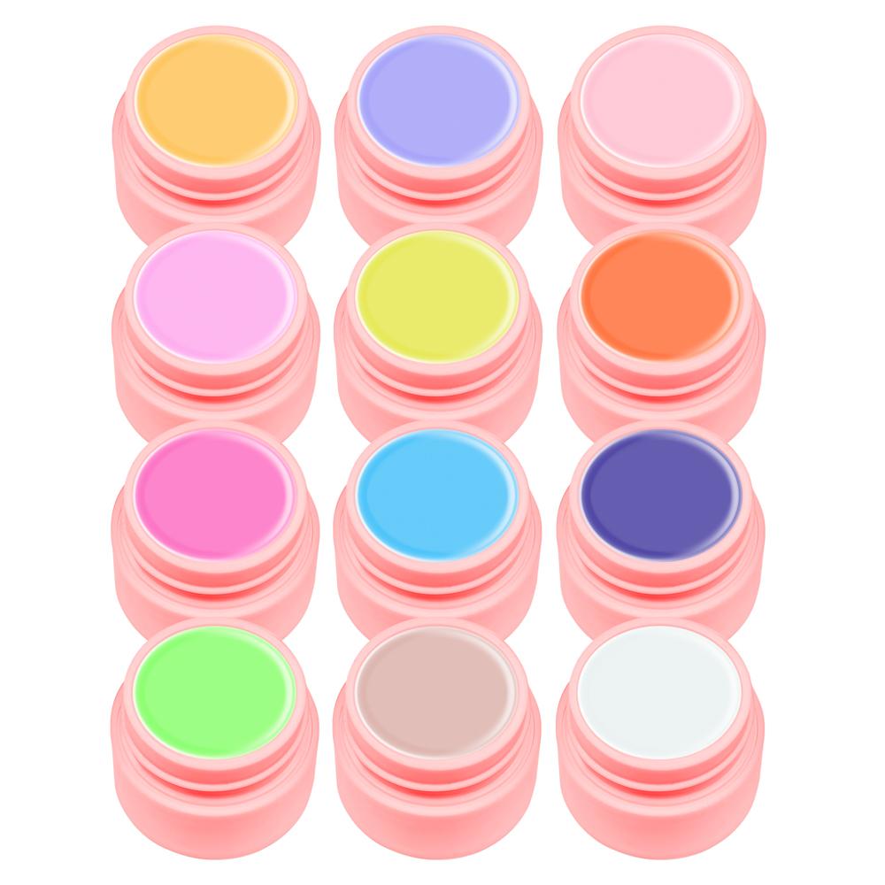 Gel Color Canni, Set 12, Youth imagine produs