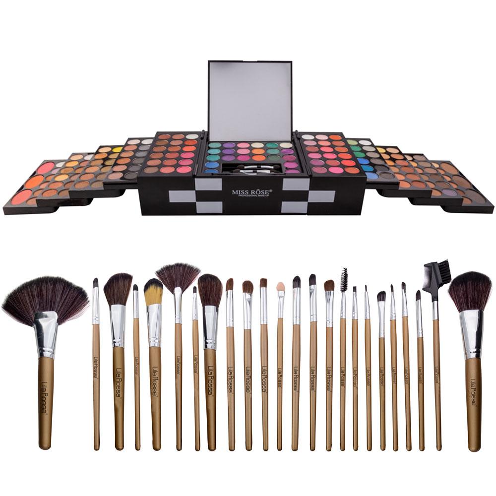 """Kit Makeup """"I'm A Diva"""" Trusa Cu 148 Farduri Si Set 24 Pensule imagine"""