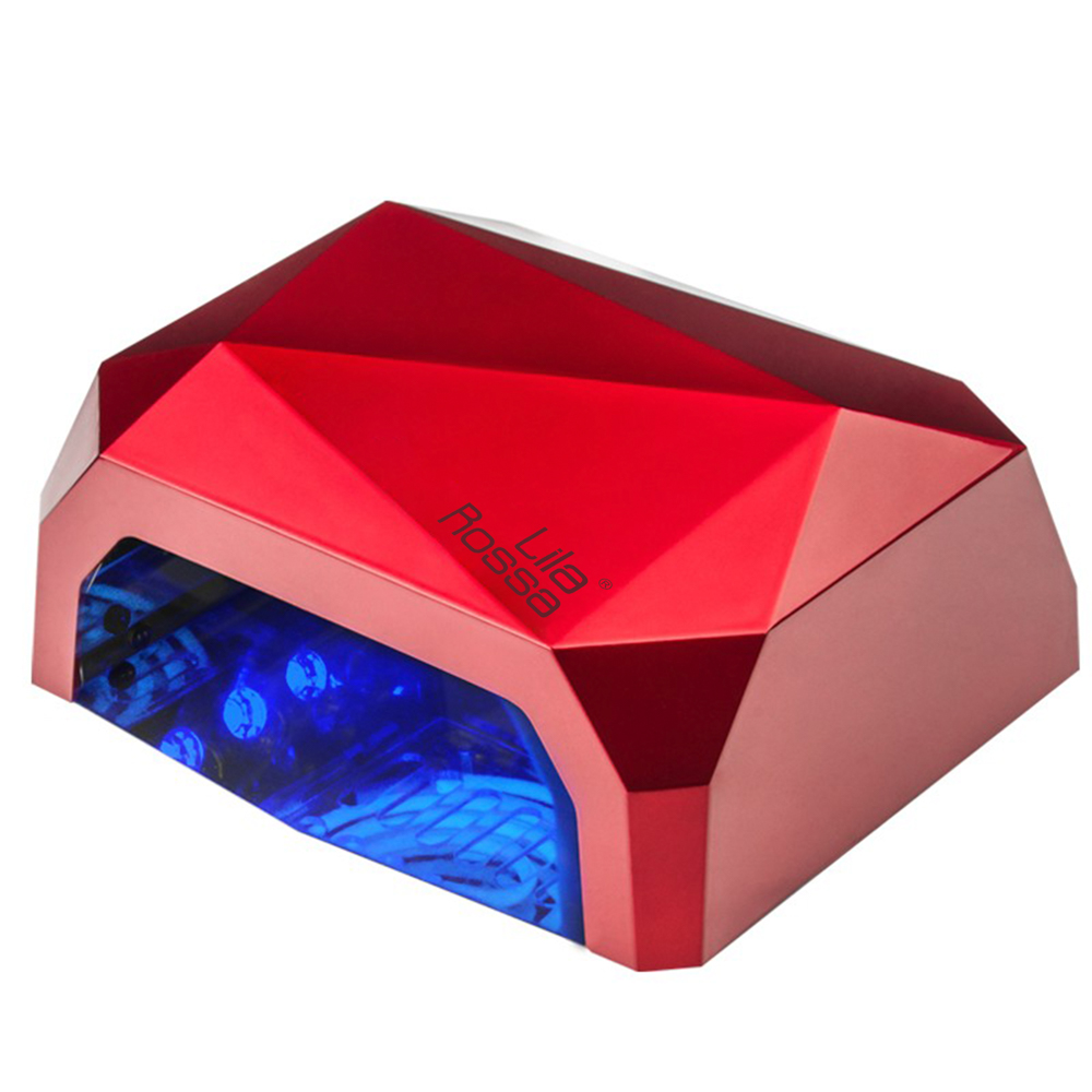 Lampa Ccfl Manichiura Pedichiura Lila Rossa, Diamond, 36 W, Rosie imagine produs