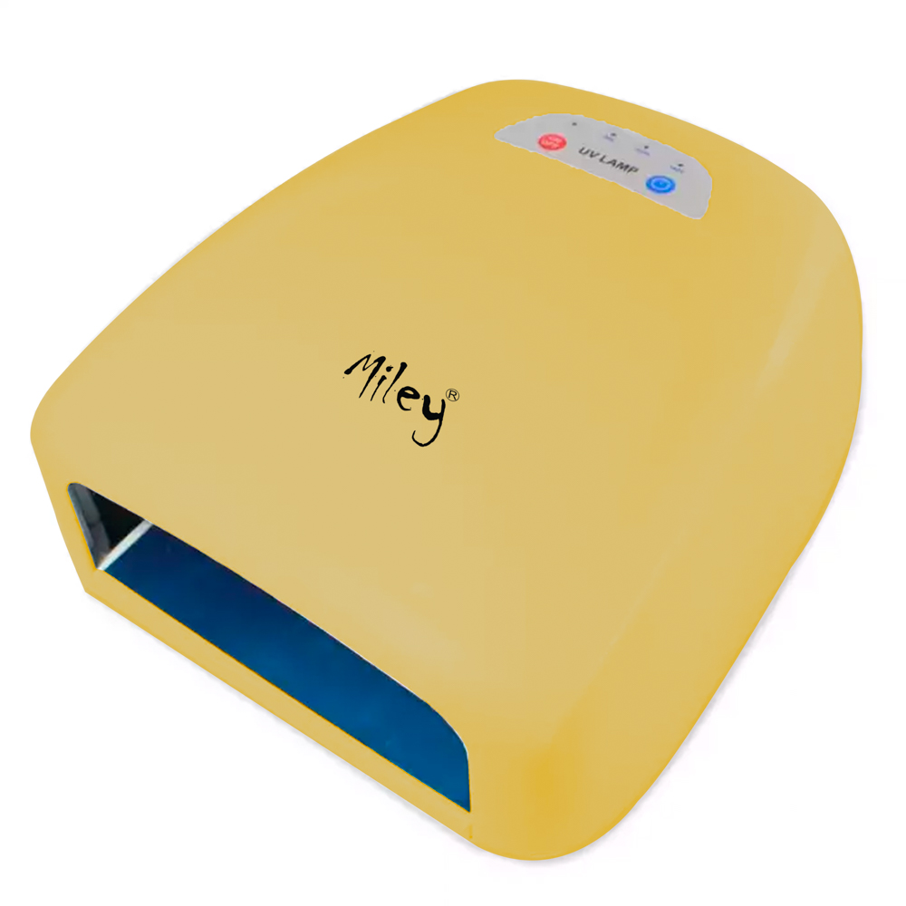 Lampa Uv Manichiura Pedichiura Miley, 36 W, Aurie imagine produs