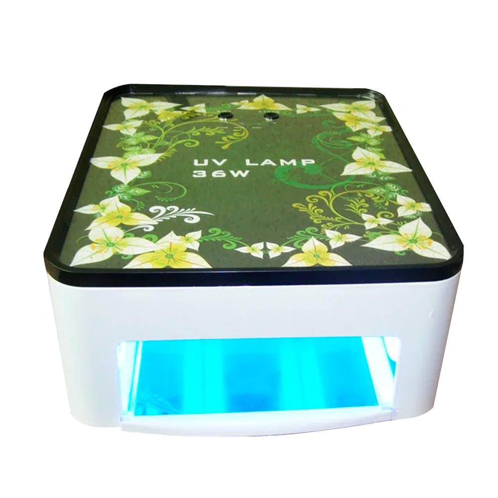 Lampa Uv Pentru Oja Semipermanenta Si Gel Simei 301, Manichiura Pedichiura, 36 W, Alba imagine produs