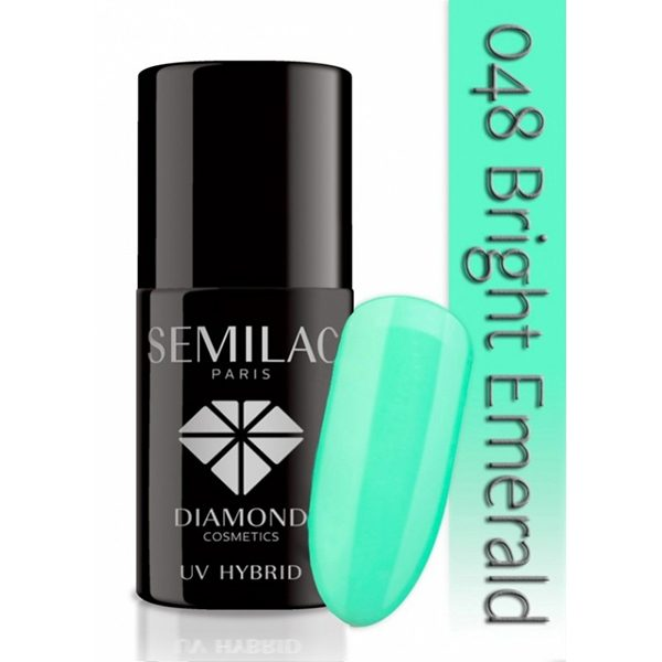 Oja Semi Semilac Bright Esmerald 048 imagine produs