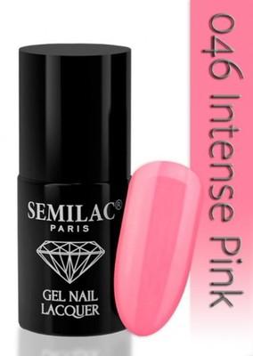 Oja Semi Semilac Intense Pink 046 imagine produs
