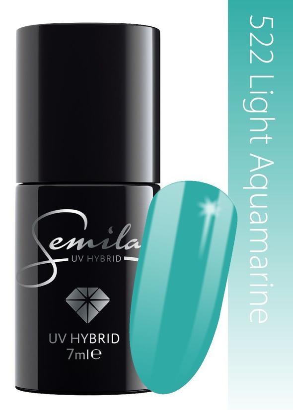 Oja Semi Semilac Light Aquamarine 522 imagine produs